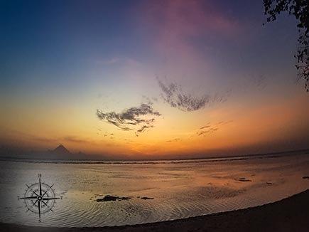 Sunset on the Gili Islands