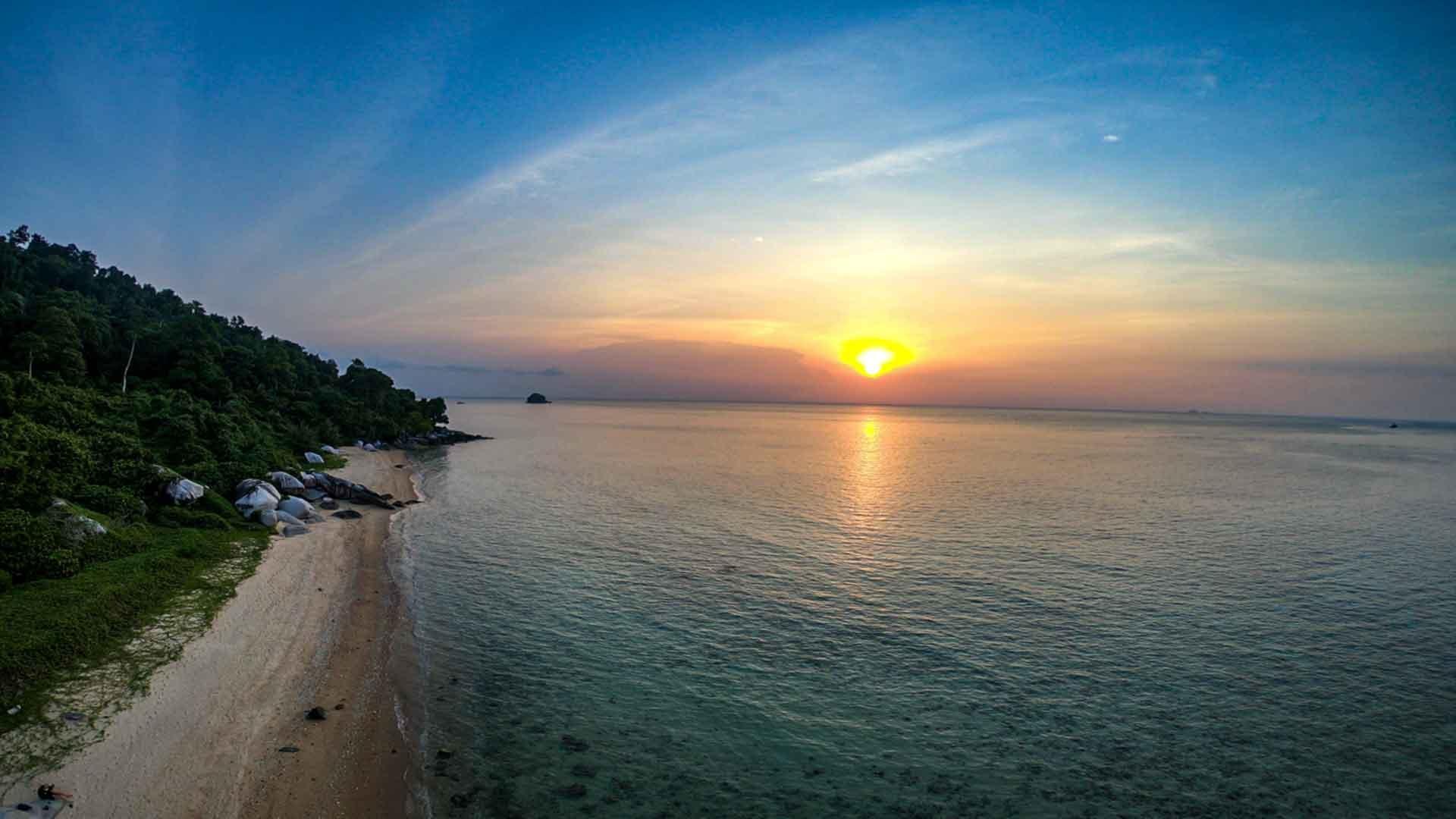 Tekek Village - Tioman Island, Malaysia 1
