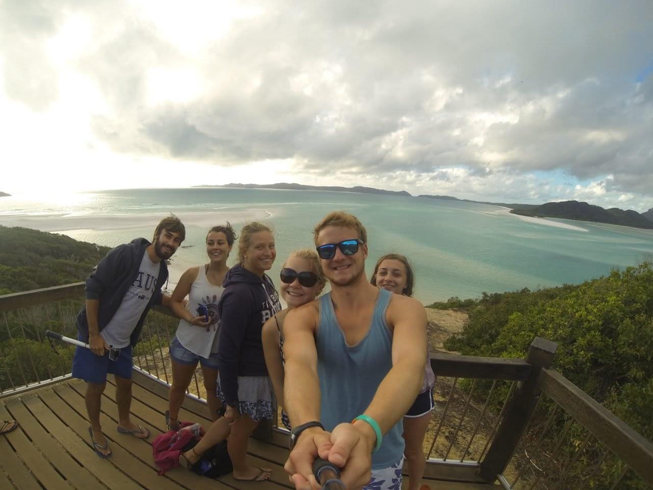 Highlands2Hammocks selfie overlooking a lake